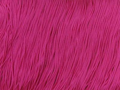 TACTEL STRETCH FRINGE 30CM ELECTRIC PINK
