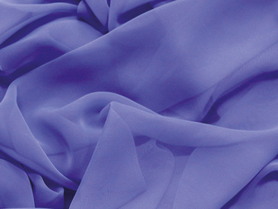 LUXURY GEORGETTE ULTRA VIOLET