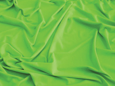 LUXURY CREPE FLUORESCENT GREEN