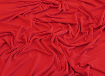 LUXURY CREPE FLUORESCENT RED