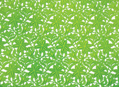 LILY LACE FLUO-GREEN