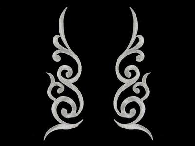 HARMONY MOTIF ANTIQUE SILVER