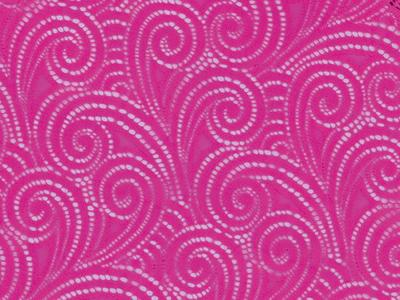 [당일발송]SWIRL STRETCH LACE ELECTRIC PINK
