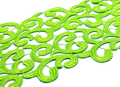 [당일발송]BRAMBLE RIBBON FLUO GREEN