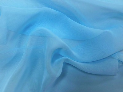 GEORGETTE ICE BLUE