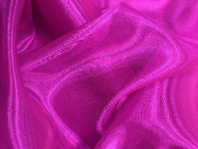ORGANZA ELECTRIC PINK