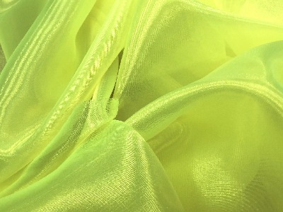 ORGANZA TROPIC LIME