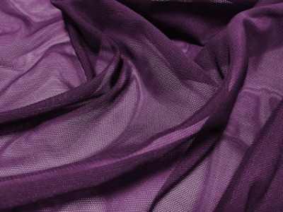 STRETCH NET PLUM