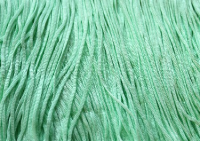 TACTEL STRETCH FRINGE 15CM SPEARMINT